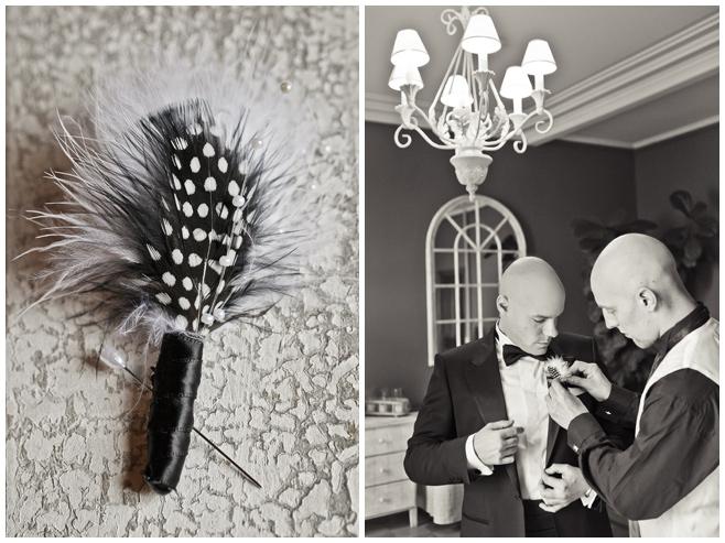 Vintage Ansteckstrauß Bräutigam © Hochzeitsfotograf Berlin hochzeitslicht