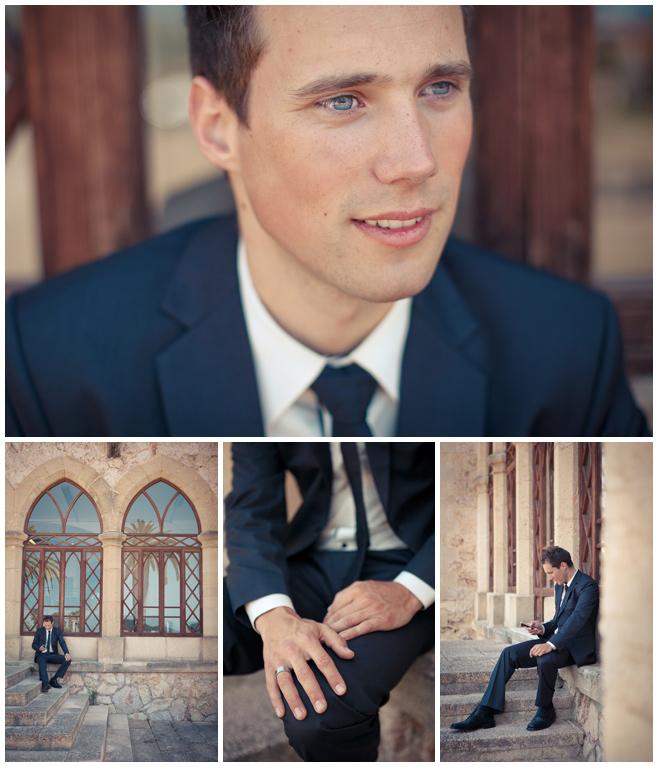 Portraitfotos Bräutigam auf Mallorca © Hochzeitsfotograf Berlin hochzeitslicht