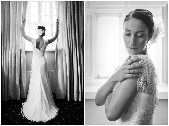 Portraitfotos der Braut bei Hochzeit auf Schloss Lübbenau Spreewald © Hochzeitsfotograf Berlin hochzeitslicht