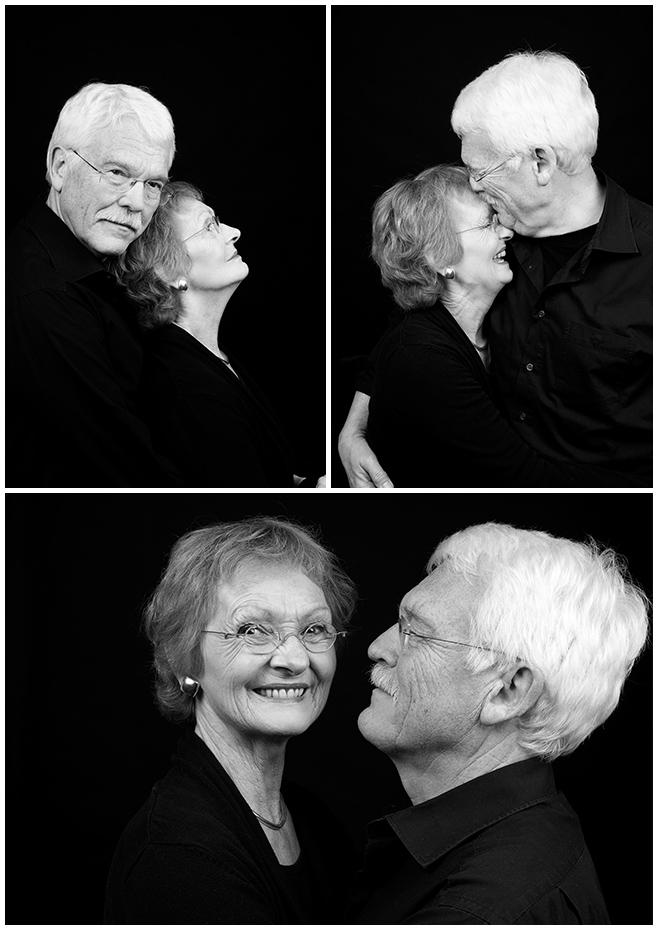 Portraitfotos der Großeltern entstanden bei Familien-Fotoshooting in Berlin © Berliner Fotostudio LUMENTIS