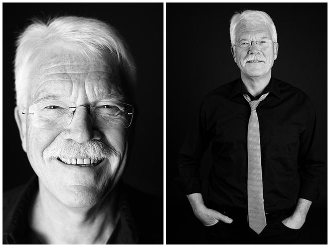 Portraitfotos des Großvaters entstanden während Familien-Fotoshooting in Berlin © Berliner Fotostudio LUMENTIS