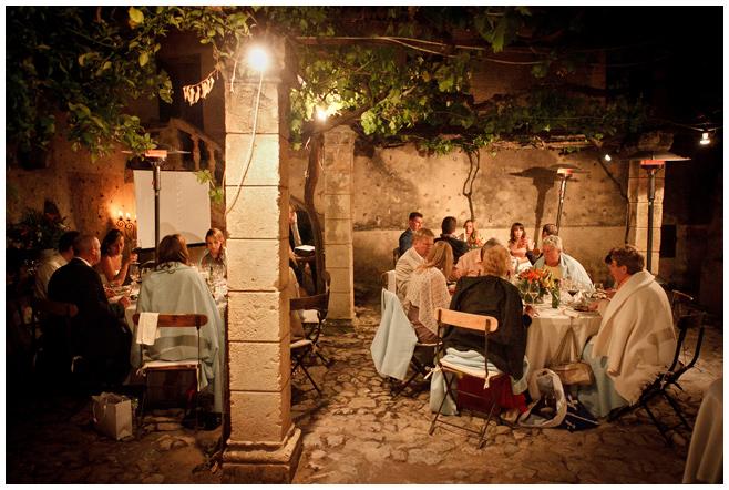 Fotos vom Abendessen bei Hochzeit auf Finca Son Bosch © Hochzeitsfotograf Berlin hochzeitslicht