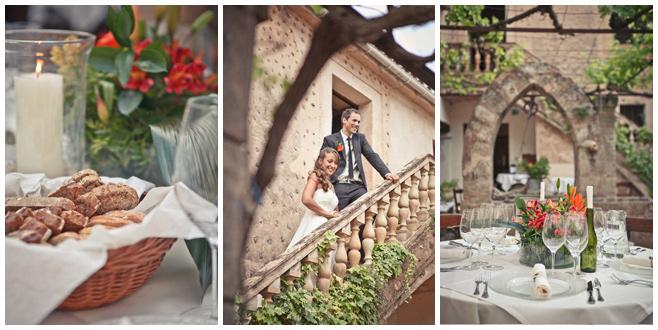 Fotos der Tischdekoration von Hochzeit in Finca Son Bosch, Mallorca © Hochzeitsfotograf Berlin hochzeitslicht