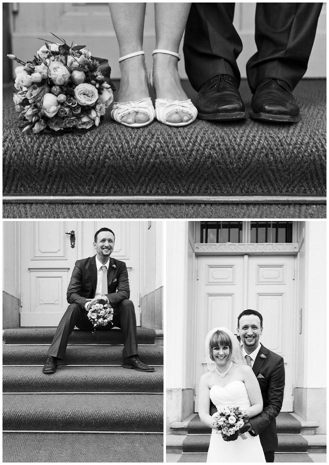 Fotos von Brautpaar im Schloss Friedrichsfelde Berlin © Hochzeitsfotograf Berlin hochzeitslicht