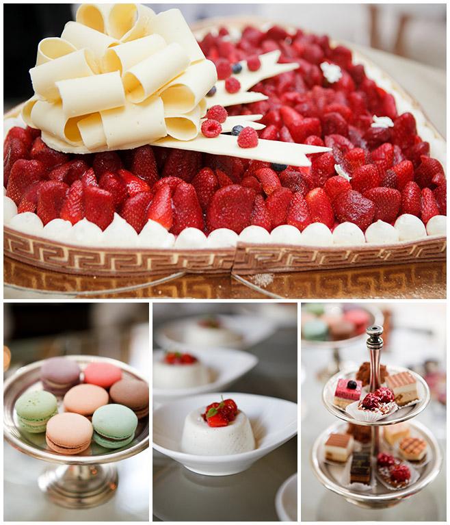 Foto von Hochzeitstorte bei Hochzeitsfeier auf Schlosshotel Grunewald © Hochzeitsfotograf Berlin hochzeitslicht