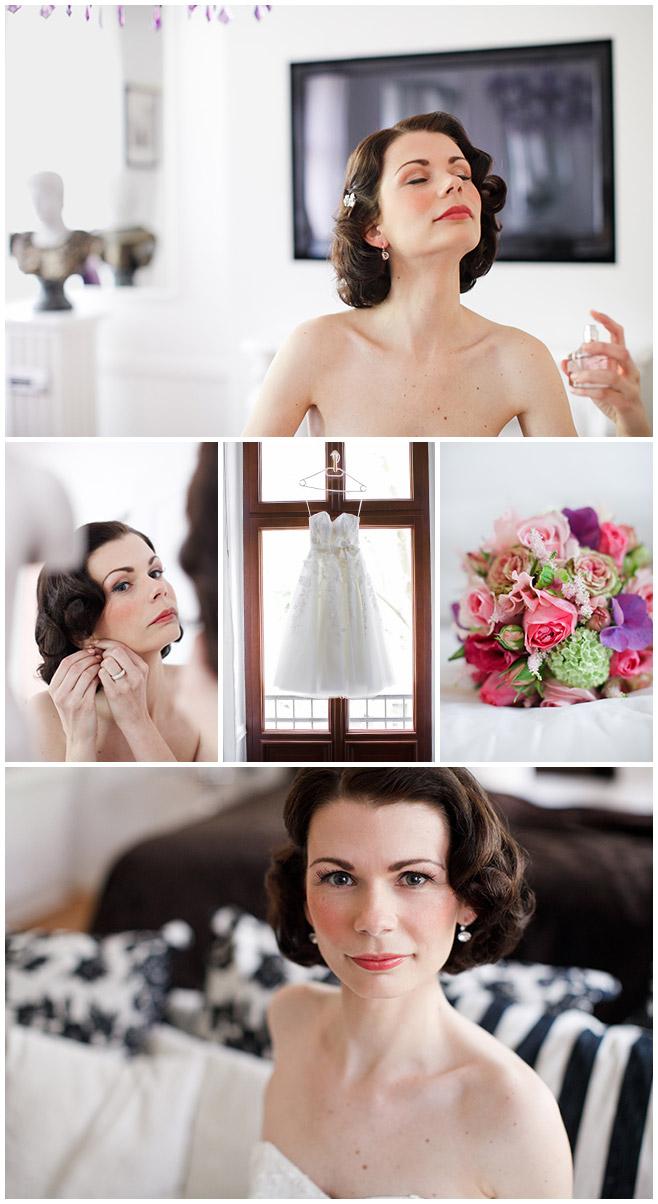 Hochzeitsfotos der Braut beim Ankleiden © Hochzeitsfotograf Berlin hochzeitslicht