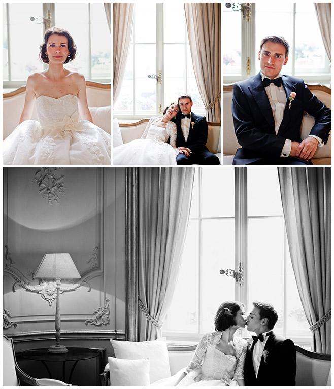 Brautpaarfotos bei Hochzeit im Schlosshotel Grunewald © Hochzeitsfotograf Berlin hochzeitslicht