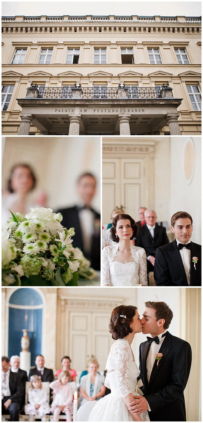 Hochzeitsfotos von standesamtlicher Trauung im Palais am Festungsgraben © Hochzeitsfotograf Berlin hochzeitslicht