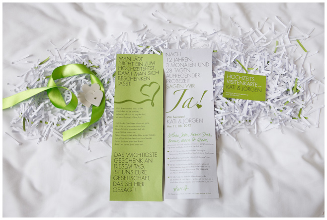 Einladungskarten für Hochzeit in Potsdam © Hochzeitsfotograf Berlin hochzeitslicht
