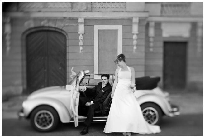Portraitfoto Brautpaar im Vintage-Look von Hochzeitsfotograf Potsdam © Hochzeitsfotograf Berlin hochzeitslicht