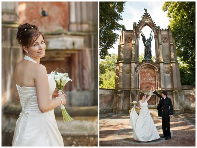 Hochzeitsfotos von Braut und Bräutigam in Potsdam © Hochzeitsfotograf Berlin hochzeitslicht