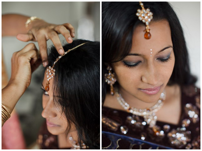 Vorbereitungen der Braut auf Hochzeitszeremonie in Indien © Hochzeitsfotograf Berlin hochzeitslicht