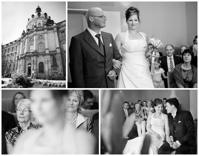 Hochzeitsreportage-Fotos von standesamtlicher Trauung in Potsdam © Hochzeitsfotograf Berlin hochzeitslicht