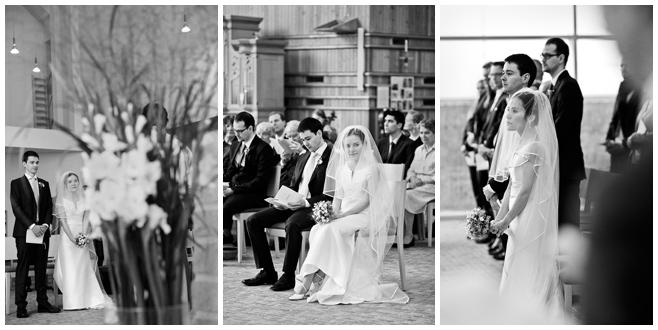 Hochzeitsfotos von Trauung in St. Canisius Kirche, Berlin © Hochzeitsfotograf Berlin hochzeitslicht