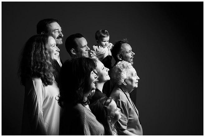 Familienfotografie im Fotoatelier © Berliner Fotostudio LUMENTIS