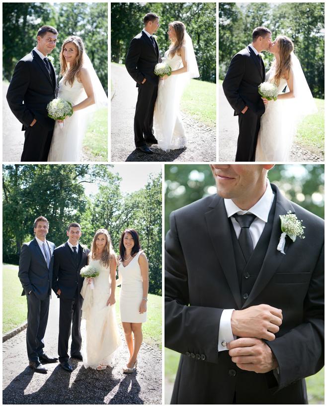 Hochzeitsfotos von Brautpaar und Gästen bei Hochzeit auf Schloss und Gut Liebenberg © Hochzeitsfotograf Berlin hochzeitslicht