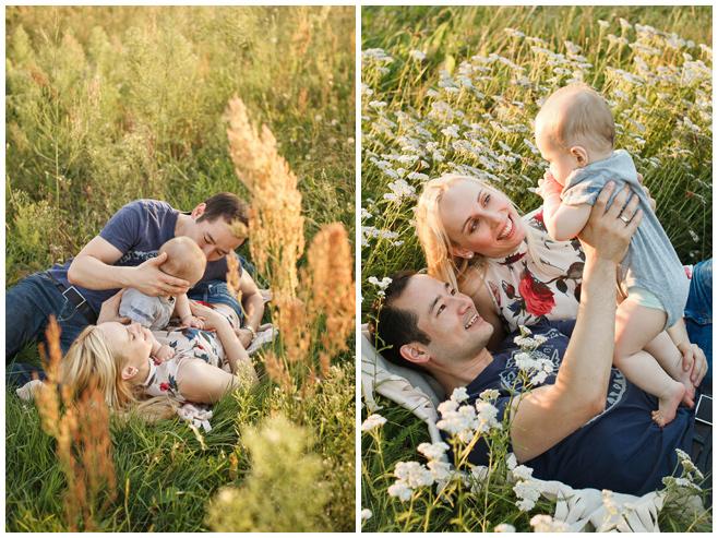 Familienfotos im Feld in Brandenburg © Berliner Fotostudio LUMENTIS