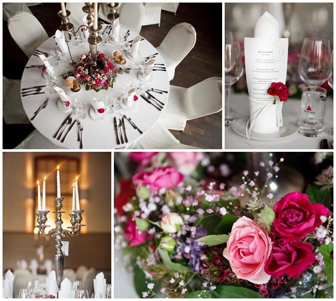 Details der Tischdekoration bei Hochzeitsfeier © Hochzeitsfotograf Berlin hochzeitslicht