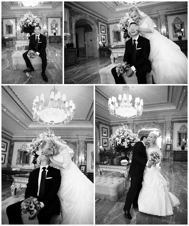 Hochzeitsfotos vom First Look von Braut und Bräutigam im Hotel Regent Berlin © Hochzeitsfotograf Berlin hochzeitslicht