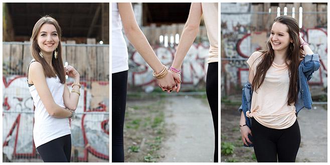 Fotoshooting mit zwei besten Freundinnen in Berlin © Fotostudio Berlin LUMENTIS
