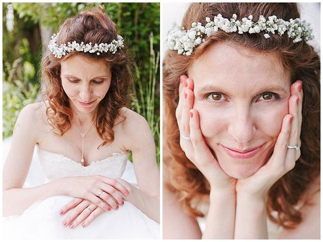 Hochzeitsportraits der Braut aufgenommen von professioneller Hochzeitsfotografin Berlin © Hochzeitsfotograf Berlin www.hochzeitslicht.de