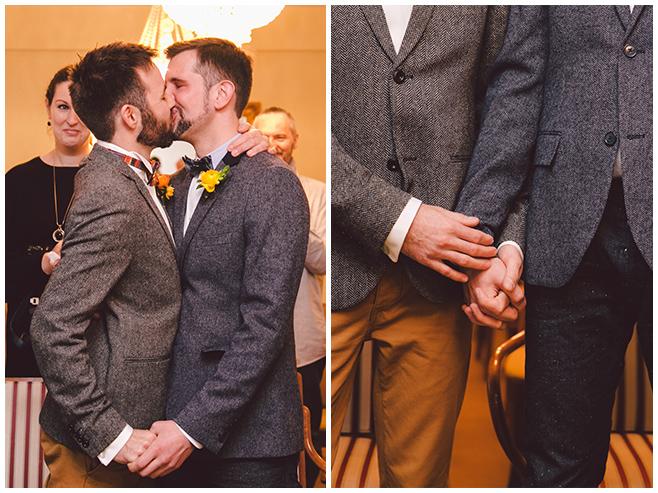 Zeremonie zur eingetragenen Lebenspartnerschaft im Standesamt Friedrichshain-Kreuzberg, Berlin © Hochzeitsfotograf Berlin www.hochzeitslicht.de
