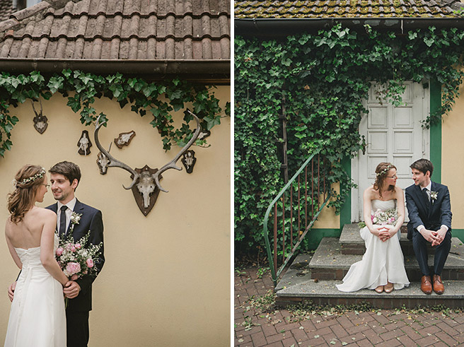 Portraitfotos von Brautpaar bei Spreewald-Hochzeit © Hochzeitsfotograf Berlin www.hochzeitslicht.de