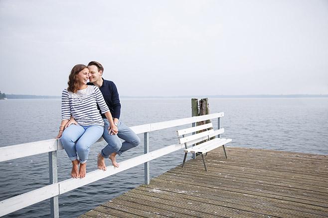 Paar bei Paarfoto-Shooting aufgenommen von professionellem Berliner Fotografen © Fotostudio Berlin LUMENTIS