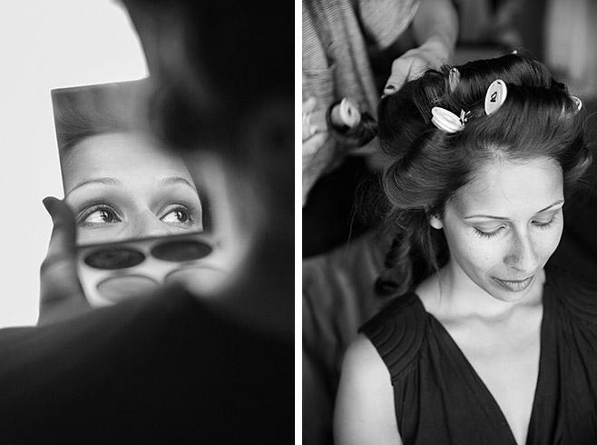 Hochzeitsbilder von Vorbereitungen der Braut im Adina Apartment Hotel auf Hochzeit in Kunztschule Berlin-Mitte © Hochzeitsfotograf Berlin www.hochzeitslicht.de