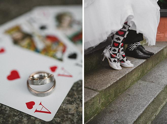 kreative Hochzeitsfotos bei Alice im Wunderland Hochzeit Berlin © Hochzeitsfotograf Berlin www.hochzeitslicht.de