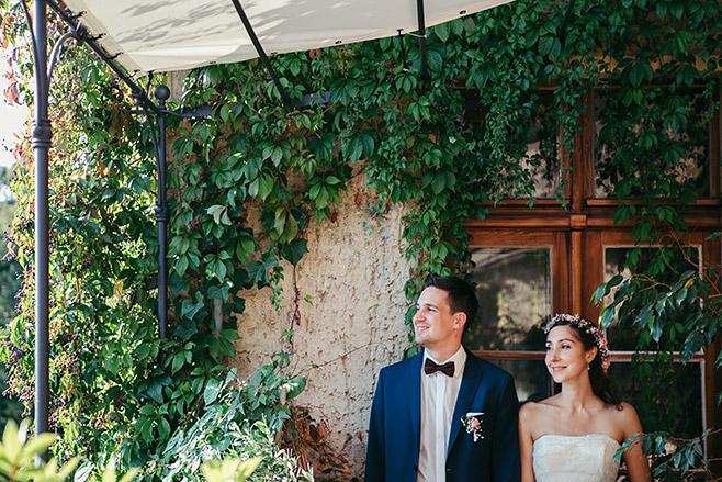 Hochzeitsfoto von Brautpaar bei Haus Tornow Hochzeit © Hochzeitsfotograf Berlin www.hochzeitslicht.de
