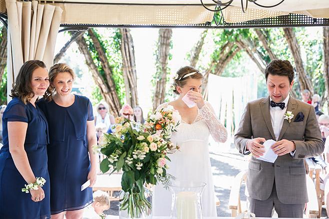 professionelle Hochzeitsfotos von Trauungszeremonie in Weidendom Spreewald © Hochzeitsfotograf Berlin www.hochzeitslicht.de
